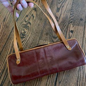 Banana Republic leather shoulder purse 5x13